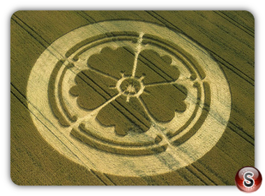 Crop circles - Beckhampton Wiltshire 2001