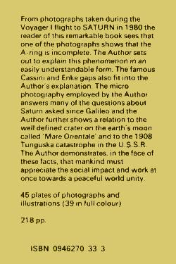 Ringmakers Of Saturn by Norman Bergrum