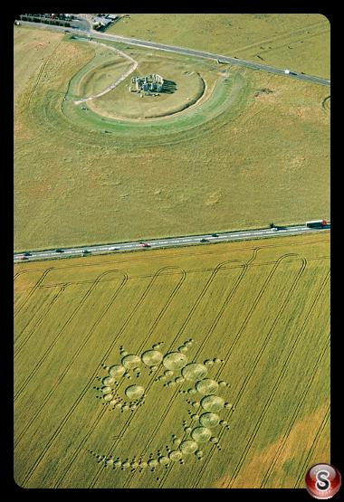 Crop circles - Stonehenge Wiltshire 1996