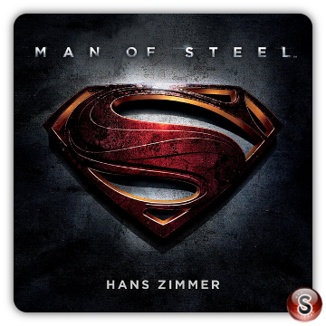 Man of steel Soundtracks List Cover CD