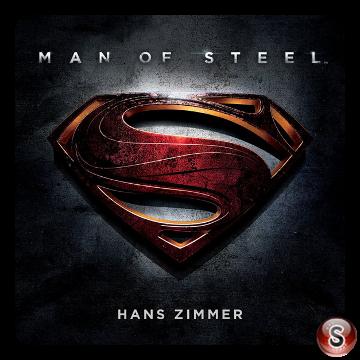 Man of steel Soundtracks List Cover CD