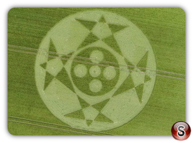 Crop circles Hackpen HIll - Wiltshire 2018