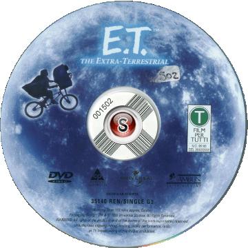 E.T. - L'Extra-Terrestre  Cover DVD