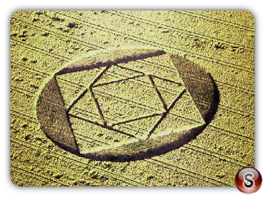 Crop circles -  West Bratton Yorkshire 2000