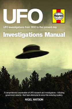 UFO Investigations Manual by Nigel Watson