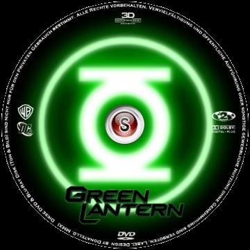 Lanterna verde Cover DVD