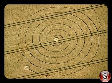Crop circles - Martinsell Hill Wiltshire UK 2012