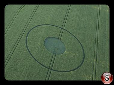 Crop circles - Avebury Wiltshire 2017