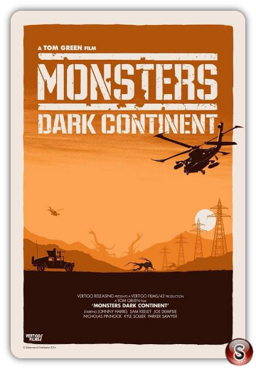 Monsters Dark Continent - Locandina -Poster