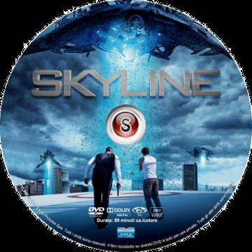 Skyline - Non guardare in alto Cover DVD
