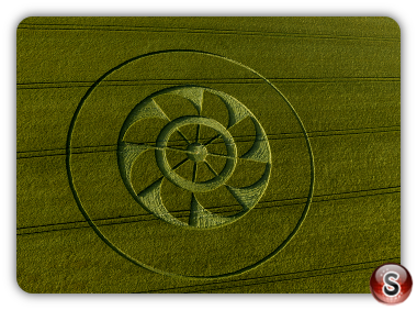Crop circles Owlesbury - Hampshire 2019