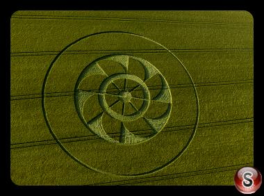 Crop circles - Owlesbury Hampshire 2019