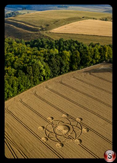 Crop circles - Heytesbury Wiltshire 2020