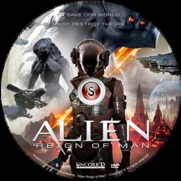 Alien Reign of Man Cover DVD