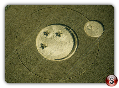 Crop circles - Pewsey, Wiltshire 2000