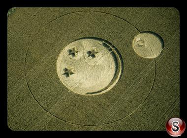 Crop circles - Pewsey, Wiltshire 2000