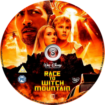 Corsa a Witch Mountain - Race to Witch Mountain  Cover DVD