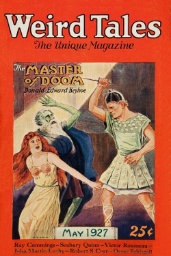 Weird Tales - The master of doom by Donald E. Keyhoe