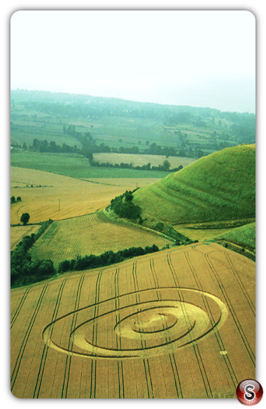 Crop circles - Olivers Castle, Wiltshire 1994