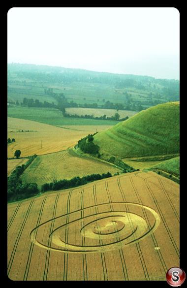 Crop circles - Olivers Castle Wiltshire 1994