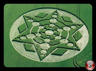 Crop circles - Devils Den, Wiltshire 1999