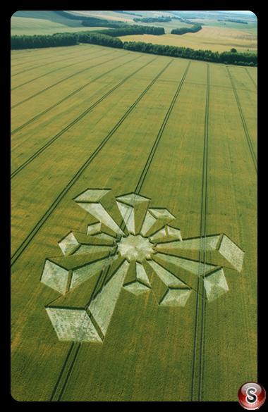 Crop circles - Waylands Smithy Oxfordshire 2006