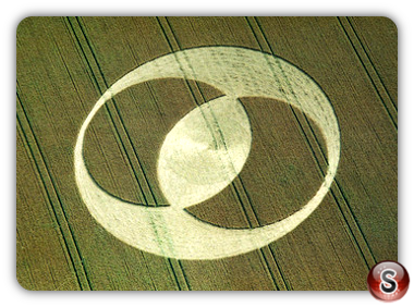 Crop circles - Ashbury, Oxfordshire 1996