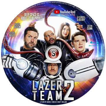 Lazer team 2 Cover DVD