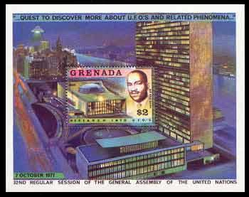 Francobollo Grenada $ 2
