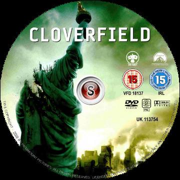 Cloverfield Cover DVD
