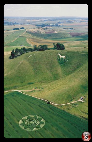 Crop circles - Cherhill, Wiltshire 1999
