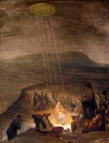 Aert De Gelder ( 1700 ) Battesimo di Cristo
