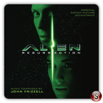 Alien Resurrection Soundtracks Cover CD