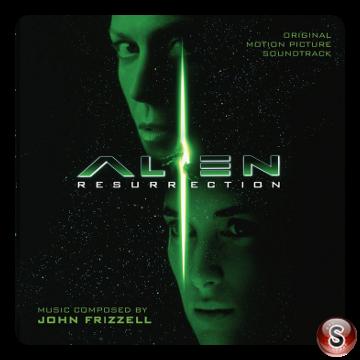 Alien Resurrection Soundtracks Cover CD