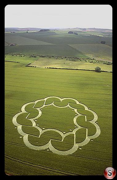 Crop circles - Windmill Hill Wiltshire 2003