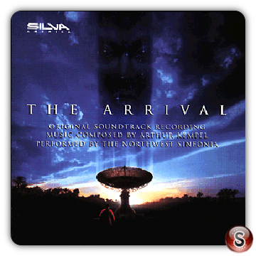 The arrival Soundtrack Cover CD