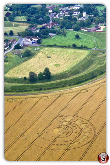 Crop circles - Avebury Stone Circle, Wiltshire 2012
