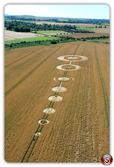 Crop circles - All Cannings, Wiltshire 2007