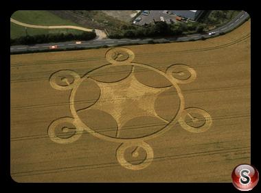 Crop circles - Weyhill Hampshire 2003