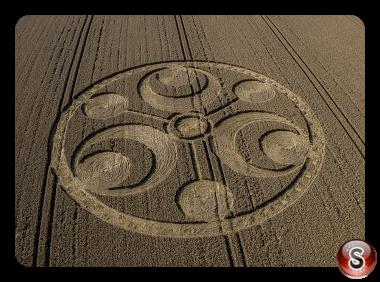 Crop circles Stanton St Bernard - Wiltshire   2019