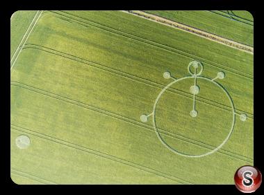 Crop circles Castello di Yarnbury - Wiltshire 2019