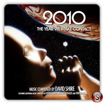 2010: The Year We Make Contact Soundtrack Cover CD