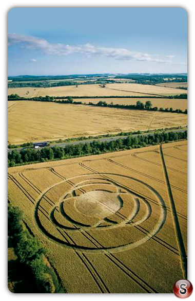 Crop circles - Andover Hampshire 2002