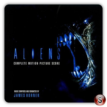 Aliens Scontro finale Soundtracks Cover CD