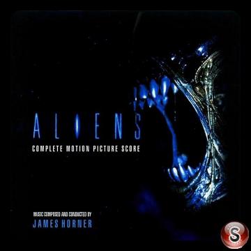 Aliens Scontro finale Soundtrack Cover CD