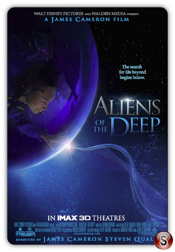 Aliens of the deep - Locandina - Poster