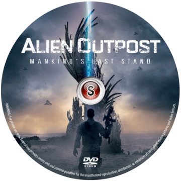 Alien outpost Cover DVD