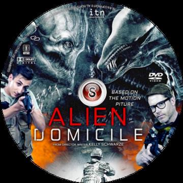 Alien domicile Cover DVD