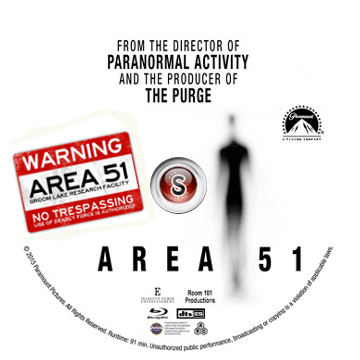 Area 51 Cover DVD