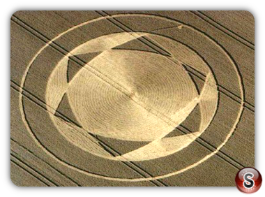 Crop circles - Beckhampton 2001